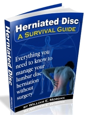Scaled Herniated disc cover